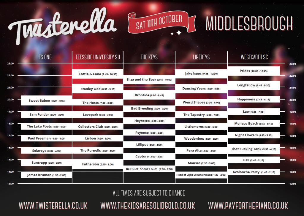 Twisterella Times 2014