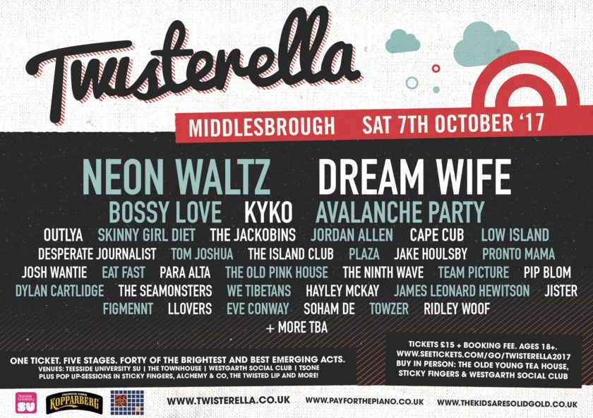 Twisterella 2017 Line-Up
