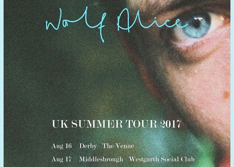 wolf alice tour poster